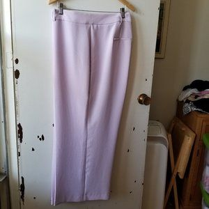 NWOT 1.State Purple Crepe Straight Leg Pants
